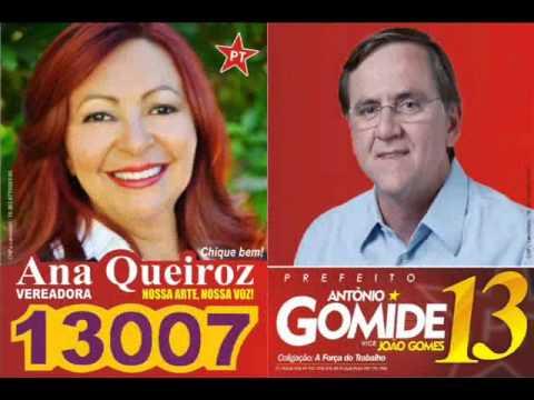 Chamada a Votar Para Eleger Ana Queiroz Digite 13007
