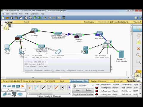 Cisco packet tracer 5.3