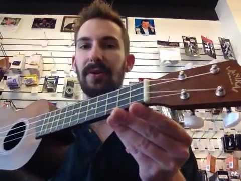 Lanicai LU-11 Soprano Ukulele Lessons Demo Music Store Nashville TN