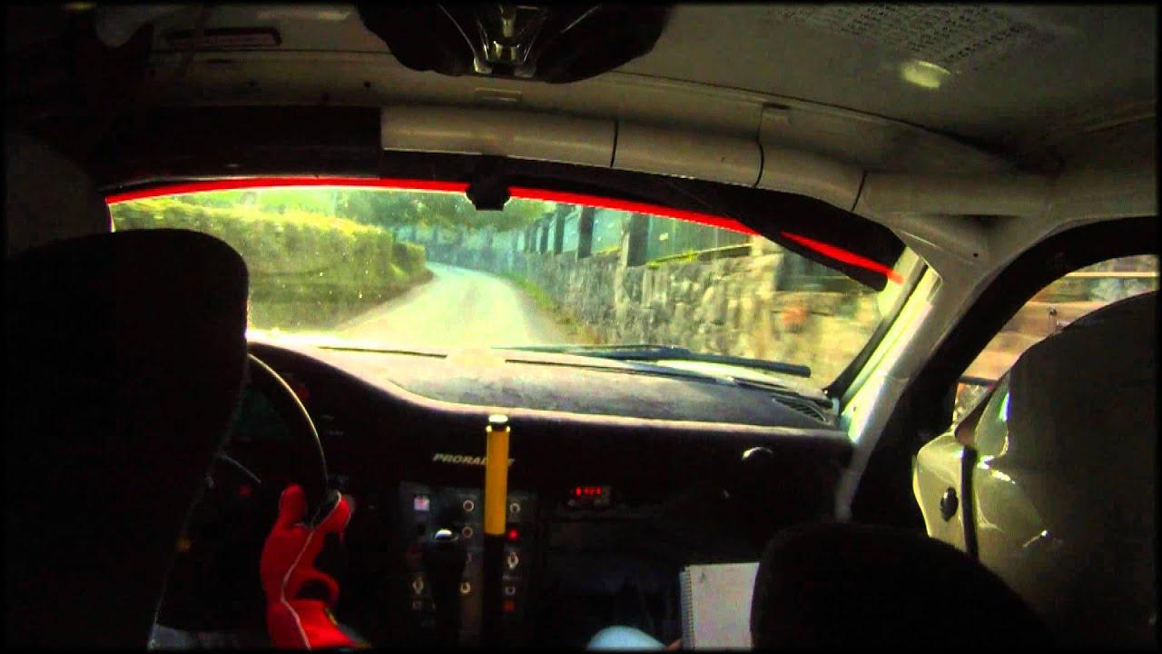 C mara interior fuster avi o porsche 911 gt3 rally pr ncipe de asturias 2012