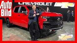 Chevrolet Silverado (NAIAS 2018) Details/Erklärung