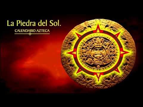 Descripci n del calendario azteca completo youtube for Del sol horario