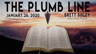 'Sunday Morning Live' 26 January 2020 - Brett Sisley - The Plumb Line