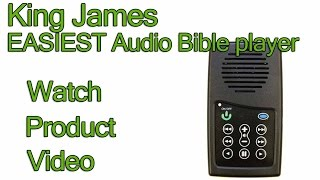 KJV Audio Bible - King James Version EASIEST Audio Bible player to use