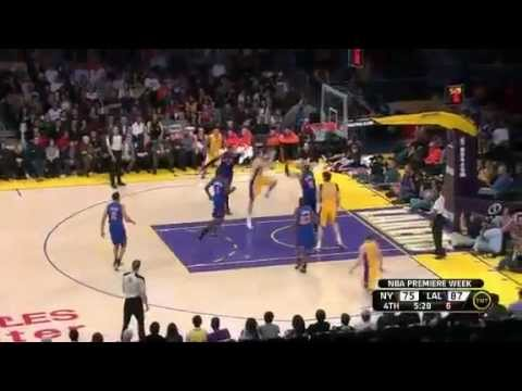 Los Angeles Lakers vs. New York Knicks (Kobe Bryant, 28 Pts vs. Carmelo Anhtony, 27 Pts), Dec. 29