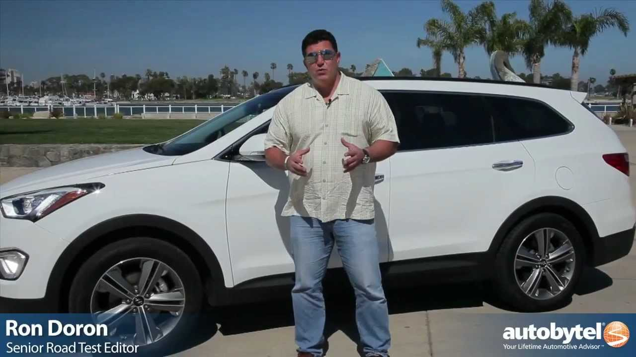 Superb 2013 Hyundai Santa Fe Test Drive U0026 SUV Video Review