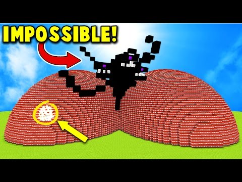 Thumbnail: EXPLODING TNT WITHER STORM BOSS MINECRAFT TROLL!