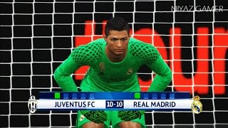 goalkeeper DYBALA vs goalkeeper RONALDO | Juventus vs Real Madrid | UCL | Penalty Shootout