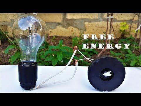 Free Energy Light Bulbs - 220v Using Magnet thumbnail
