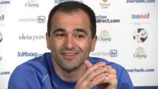Roberto Martinez pre-Fulham press conference