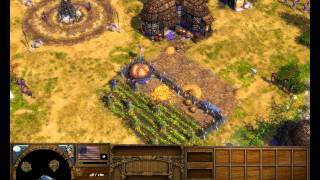 Age of Empires III The Warchiefs - Gameplay By Faks