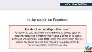 Cae Facebook a Nivel Mundial y usuarios entran en pánico 13 Marzo 2019 #FacebookDown