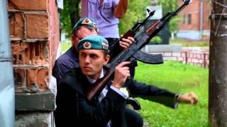 Выкуп в стиле ВДВ  Нижний Новгород 29 августа 2015  Сергей и Светлана