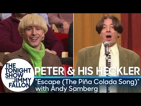 "Peter and His Heckler - ""Escape (The Piña Colada Song)"" with Andy Samberg"