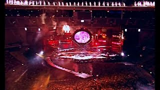 Johnny Hallyday Allume le feu Stade de France Paris 1998 Haute qualité