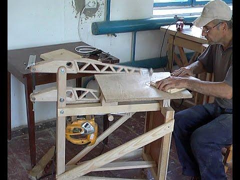 самодельный лобзиковый станок с регулятором хода пилки