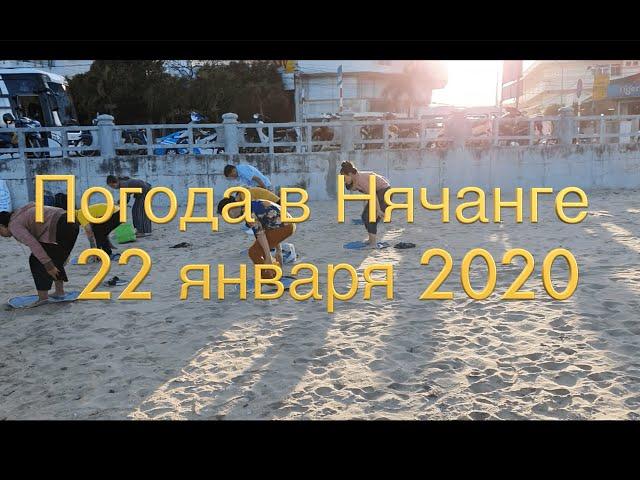 Погода в Нячанге сегодня, 22 января 2020 года + ВИРУС ИЗ КИТАЯ в Нячанге