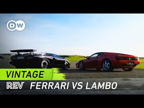 ferrari testarossa vs lamborghini countach drive it youtube. Black Bedroom Furniture Sets. Home Design Ideas