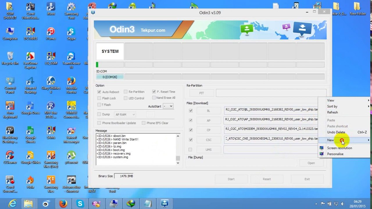 ALL SAMSUNG Odin v3 09 how to flash samsung phone 4 file BL AP CP CSC with  BY GSM TANJIR