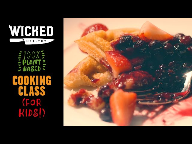 Ch.6 - Quick Vegan Breakfasts | Plant-Based Cooking Class | Wicked Healthy Kids