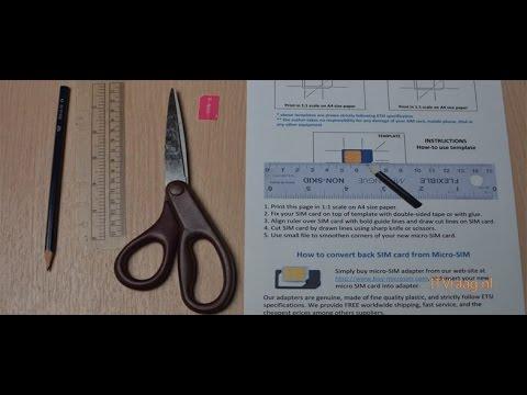 Para chip gabarito pdf cortar