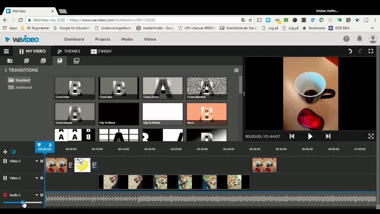 Vejledning i WeVideo