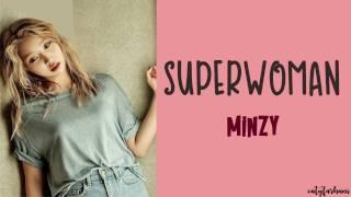 minzy 공민지 superwoman 수퍼우먼 lyrics color codedhanromeng