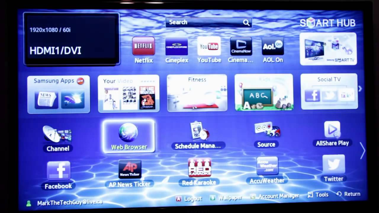 samsung un32h5203 32 inch 1080p 60hz smart led tv manual