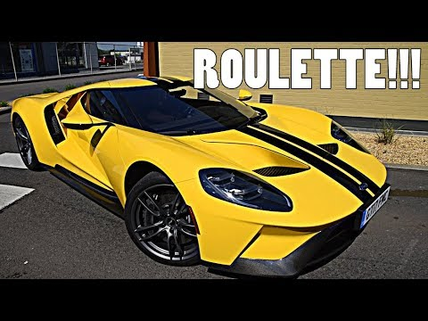 MCDONALD'S ROULETTE IN THE NEW FORD GT!!