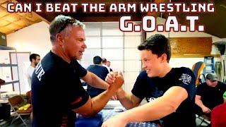 I challenged the worlds Best arm Wrestler! John Brzenk