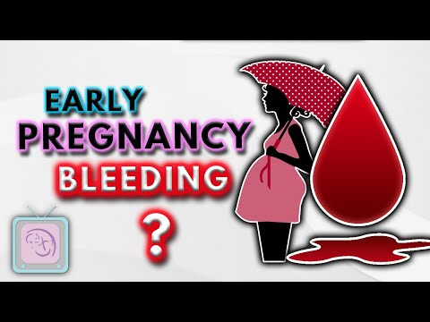 Implantation bleeding, early pregnancy bleeding & spotting: 10 Important facts