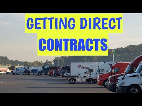 How to get direct contracts; How to get loads#Trucking,#freight, clients