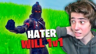 HATER will 1v1 und wird ZERSTÖRT!