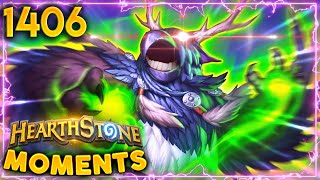 What Is He Gonna Do?? KILL ME?? | Hearthstone Daily Moments Ep.1406