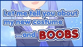 【NIJISANJI】Yuuki Chihiro talks about her new costume ...and Boobs 【ENGSUB】【勇気ちひろ】