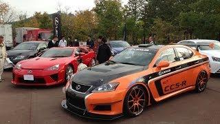 Lexus IS F CCS R Race Car 2012 Videos
