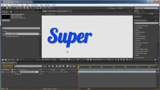 After Effects. Импорт файлов из Photoshop и Illustrator. (Артем Лукьянов и Марсель Фатхутдинов)