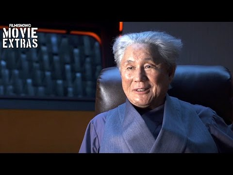 Ghost In The Shell | On-set visit with Takeshi Kitano 'Aramaki'