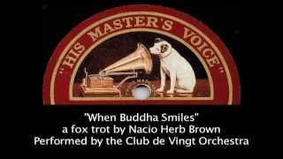When Buddha Smiles