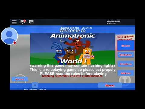 Animatronics world part 2) is the end for the Animatronics