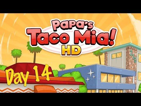 Papa's Taco Mia! HD Day 14 - iOS Gameplay