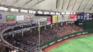 2017/6/18 巨人vs千葉ロッテ 千葉ロッテマリーンズ新加入ペーニャ選手の...