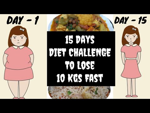 15 Days Vegan Diet Challenge To Lose 10 Kgs Fast | INDIAN MEAL PLAN thumbnail
