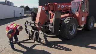 Introduction to Rough Terrain Telehandler Forklifts