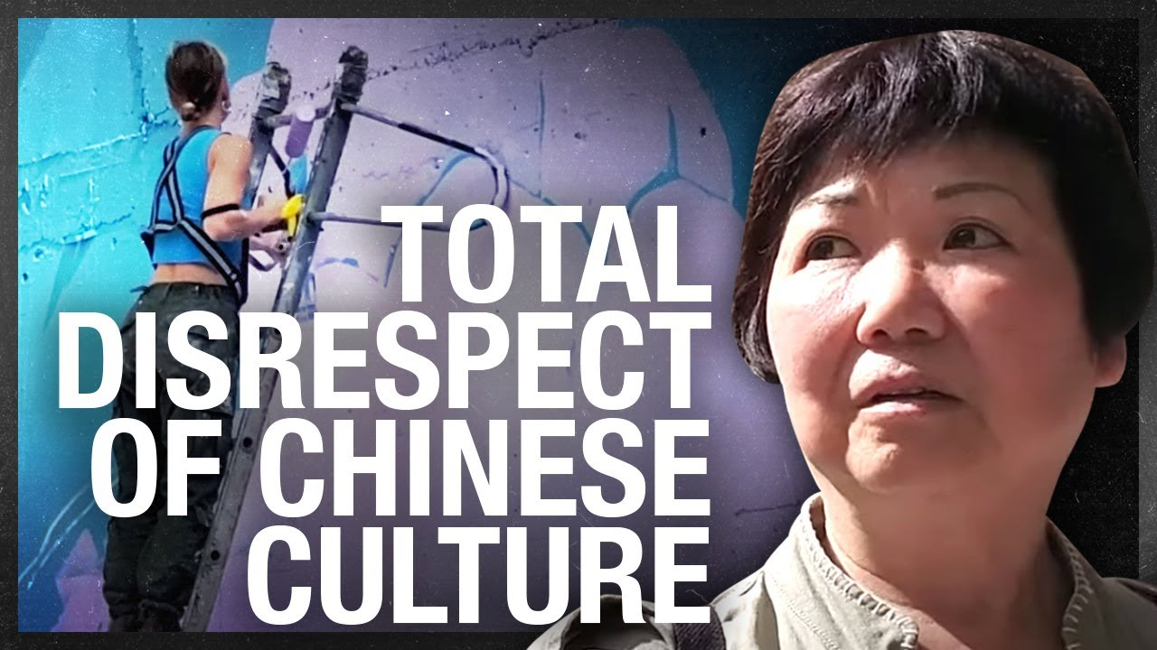 Calgary Black Lives Matter mural moves to Chinatown; residents want to maintain Chinese heritage