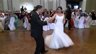 First Dance An Indian Wedding Reception Video at Mississauga Convention Center Toronto GTA