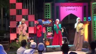 Ramadhan by Nadhira Nasyid at Radio Show Sahur TVONE 30 juli 2012