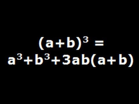 A Plus B Cube - Algebra Identity Explained Step By Step