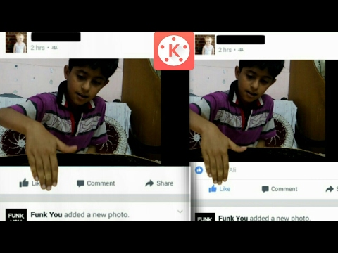 Zach king magic tutorial   Facebook Screen   in Android on Kinemaster #1