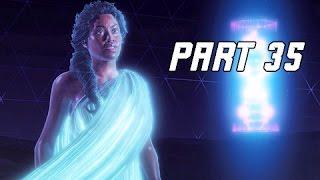 Horizon Zero Dawn Walkthrough Part 35 - GAIA (PS4 Pro Let's Play Commentary)